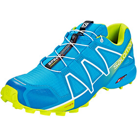 Salomon M's Speedcross 4 Shoes Hawaiian Surf/Acid Lime/White